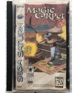 ☆ Magic Carpet (Sega Saturn 1996) Complete in Case Game Tested Works READ ☆ - $25.00
