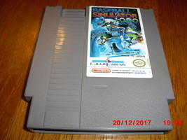 Baseball Simulator 1.000 (Nintendo Entertainment System NES, 1989) - $15.34