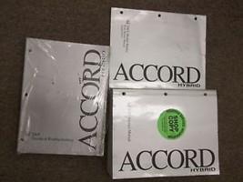 2005 Honda Accord Hybrid Service Shop Repair Manual Set W Ewd & Body Book Oem - $247.45