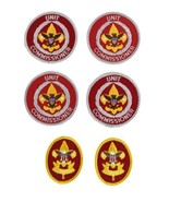 Vimtage Boy Scouts Unit Commissioner & First Class Rank Patches Lot of 6 - $18.69