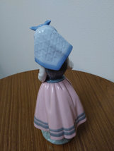 Rare Vintage Girl with Goose L.Ladro Daisa 1983 Retired Statue Figurine image 3