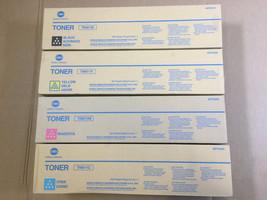 OEM Konica TN611 CMY TN411K Black Toner for Bizhub C451 C550 C650 Fast S... - $256.41