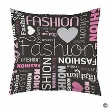 MsMr Throw Pillow Case Cushion Cover Pillow Case Cover with Hidden Zippe... - £13.47 GBP