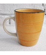 Gibson Designs COLOR VIBES Yellow Coffee Mug Tea Cup Mint Condition Fast... - $11.83