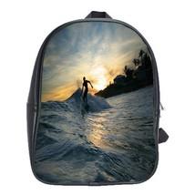 Backpack School Bag Robert Kelly Slater American Professional Surfer Water Sport - $33.00