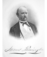 JAMES THORINGTON US Consul at Aspinwall Columbia - SUPERB Portrait 1874 ... - $13.86