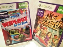 XBOX 360 Wipeout: In the Zone (2011) + KINECT Adventures (2010) - $19.64