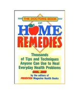 The Doctor's Book of Home Remedies... by Prevention Magazine, Hardcover,... - $9.99