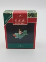 "Hallmark Keepsake Ornament ""Air Santa"" 1990 w box - $7.18"
