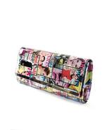 Stylesilove Magazine Cover Patchwork Evening Clutch Purse Handbag, Multi... - $24.99