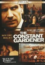 The Constant Gardener DVD 2006 Ralph Fiennes Rachel Weisz Fernando Meire... - $6.00