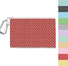 Mouse Ears Polka Dots Canvas Zip Pouch - $15.99+