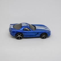 2006 Hot Wheels Dodge Viper Coupe HW First Editions OH5 Blue Loose 1:64 Car - $1.49