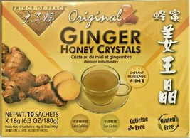 1/2/3 Boxes, Prince of Peace Original Ginger Honey Crystals Instant Beverage - $8.21+