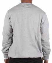 LRG Men's Heather Grey L-Coalition Crewneck Sweatshirt Fleece Sweater NWT image 2