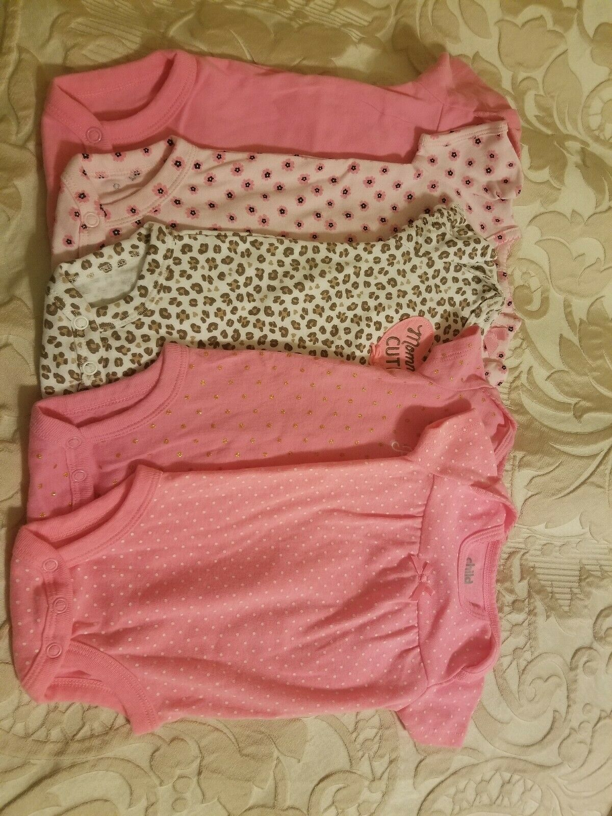 bc56f1de3 Carters Child of Mine 5 bodysuit for girl, size 0-3 months - $14.03
