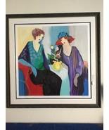 "Iztchak Tarkay Hand Signed LE Serigraph ""Seated Women"" w/Frame - $2,250.00"