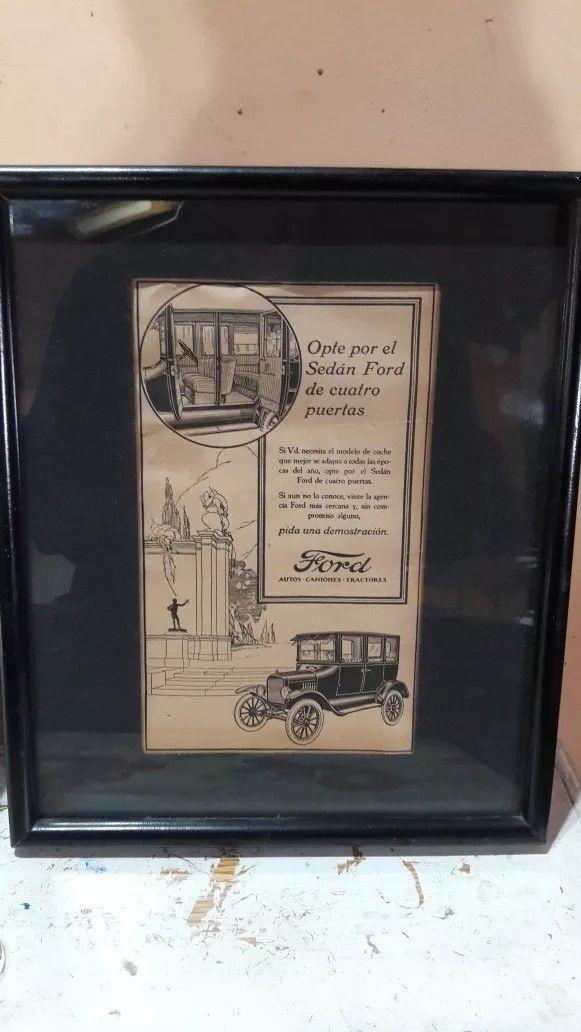 Ford Print Ad (1920s): 1 listing