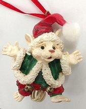 Merry Chrismouse Elf Ornament by Kurt S Adler (White`) - $17.50