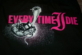 Every Time I Die Cobra Guitar T-Shirt Mens Medium New Metal Band - £14.49 GBP