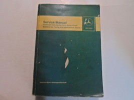 1968 Mercedes Benz 114 115 Wartung Tuning Service Manuell Volume 1 OEM *** - $34.64