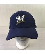 Milwaukee Brewers Baseball Team Hat Cap New Era 9Forty Adjustable Blue W... - $28.70