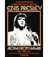 "Elvis Presley 1973 NBC Special ""Aloha From Hawaii"" Stand-Up Display - Ro... - $15.99"