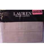 Ralph Lauren Dunham Dove Gray Sheet Set Queen - $87.00