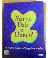 Marry Date or Dump Game-Complete - $12.00