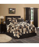 Primitive Country Black Block Bedding Sets ~ Kettle Grove ~ Build your Own - $20.74+
