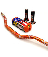 "Handlebar Pads Handle Grips 1-1/8"" GEICO Pack Dirt Bike Motocross Fat MX... - $47.99"