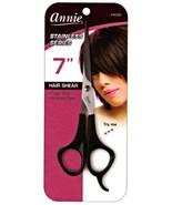 Annie Titanium Series Thinning Hair Shears 7  Black #5006 - $5.40