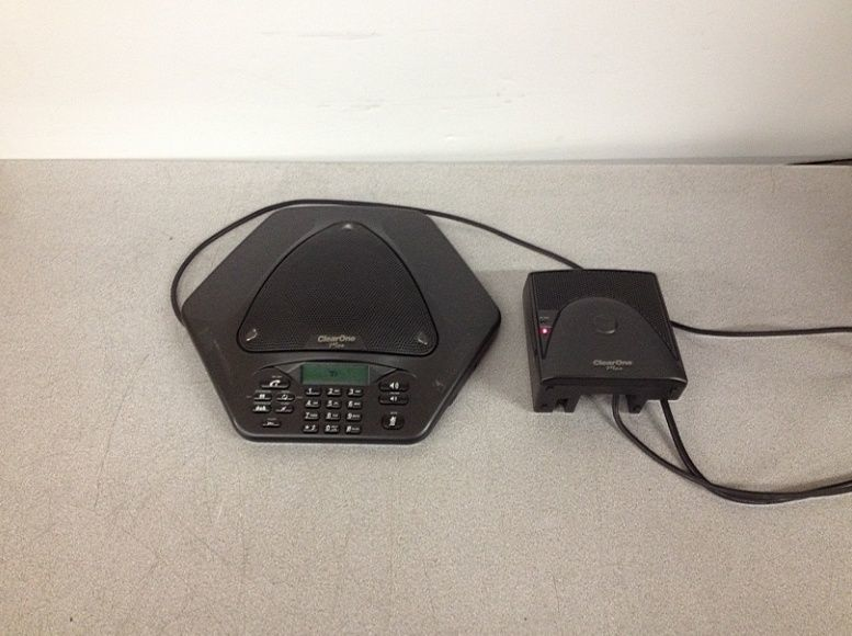 ClearOne Max EX Conference Phone System 860-158-500 w/ 860-158-501 Parts/Repair