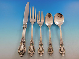 Eloquence by Lunt Sterling Silver Flatware Set for 6 Service 34 Pieces - $2,050.00