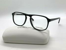 Calvin Klein CK 19528 001 BLACK Eyeglasses Frames 56-19-145MM /CASE - $43.62