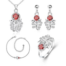 S103 Scorpion Pattern Plated Ring Necklace Drop Earrings Anklet Fashion ... - $14.25