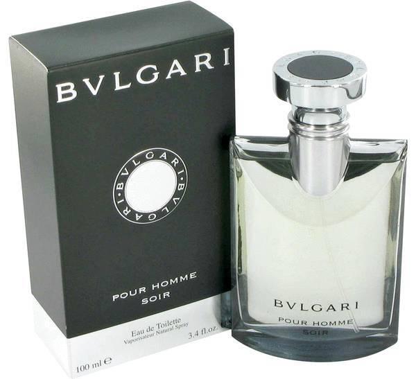 Bvlgari pour homme 3.4 oz soir cologne