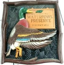 Pheasant Hill Lodge and Mallard Duck Waterfowl Wall Art Circa 90s Lot of... - $29.02