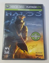 Halo 3: Platinum Hits Edition - Xbox 360 Case, Disc, & Manual 2009 - $9.85