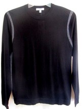 MURANO COLLEZIONE..BLACK & GRAY..CREW NECK..100% MERINO WOOL..SWEATER..N... - $24.99