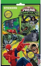 Disney Character Marvel Ultimate Spiderman V Sinister 6 700 Stickers Activity - $3.56