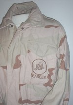 USN US Navy M-65 field jacket DCU Desert Camouflage Seabees marked Lg Re... - $75.00