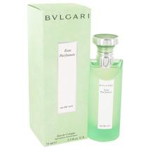 Bvlgari Eau Parfumee (green Tea) Cologne Spray (unisex) 2.5 Oz For Men  - $105.07