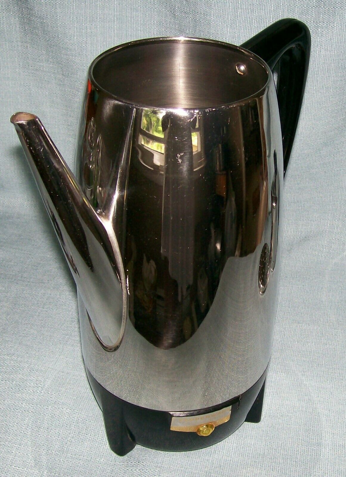 Vintage Farberware Superfast 12 Cup Percolator Coffee Pot 122 Automatic New York image 4