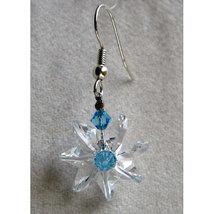 Clear Miniature Crystal Daisy Earrings image 1