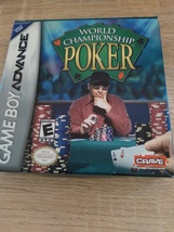 Nintendo Game Boy Advance GBA World Championship Poker - COMPLETE In Box image 1