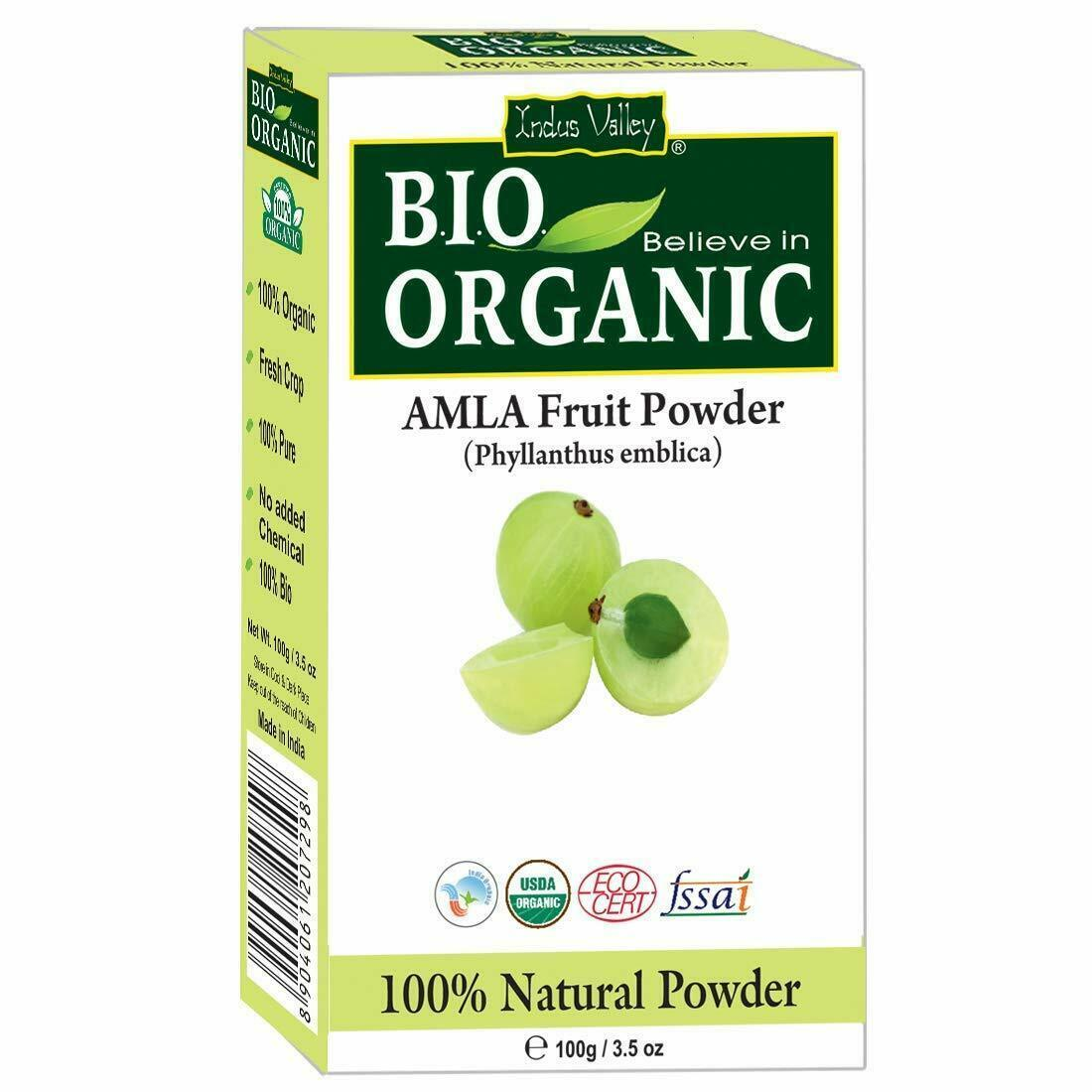 Organic Amla Indian Gooseberry Powder 100 Grams -Effective Solution For Anti-Age image 3