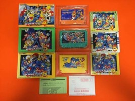 CAPCOM  Megaman  4 & 5 & 6  Game FC with box & instruction Used Japan G18 - $410.00