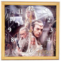 """The Hobbit The White Council Cordless 12"""" Wall Clock Lord of the Rings B... - $34.35"""