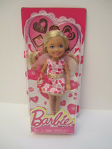NRFB Target Barbie Sister Chelsea Valentine Doll New Blonde Cupid 2014 - $8.00